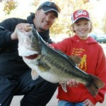 trophy bass fishing with james caldemeyer