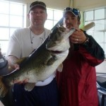 bass fishing in lake fork